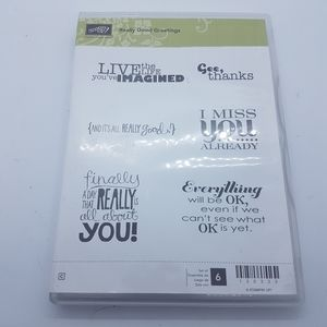 Stampin up Really Good Greetings stamps